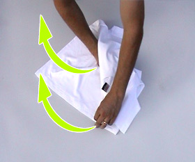 Cara Melipat Kaos dengan Cepat dan Efisien